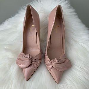 Kate Spade Patent Leather Blush Pink High Heels